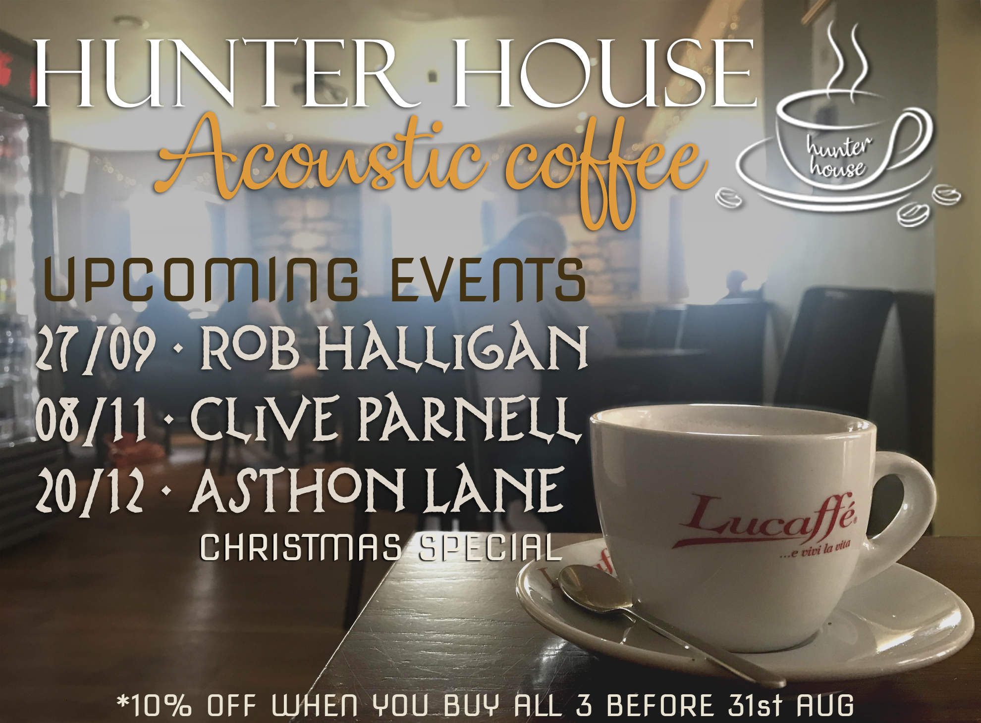 Acoustic Coffee Sep-Dec 2019 1